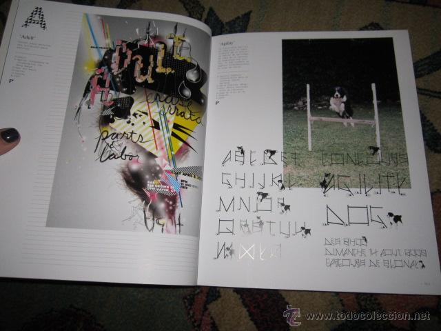 Libros de segunda mano: LOCOS POR LA TIPO. Nuevas tendencias en TIPOGRAFÍA DE LA A A LA Z. INDEX BOOK, SL 2007 - Foto 3 - 42355251