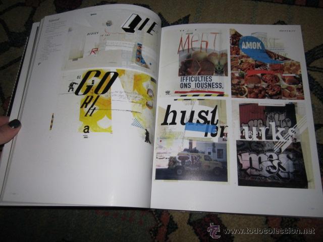 Libros de segunda mano: LOCOS POR LA TIPO. Nuevas tendencias en TIPOGRAFÍA DE LA A A LA Z. INDEX BOOK, SL 2007 - Foto 4 - 42355251