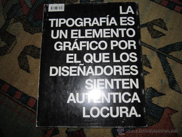 Libros de segunda mano: LOCOS POR LA TIPO. Nuevas tendencias en TIPOGRAFÍA DE LA A A LA Z. INDEX BOOK, SL 2007 - Foto 6 - 42355251