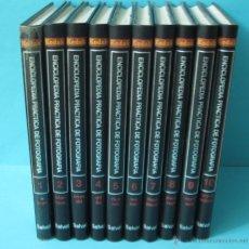 Libros de segunda mano: ENCICLOPEDIA PRÁCTICA DE FOTOGRAFÍA. KODAK. 10 TOMOS.. Lote 42631790