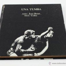 Libros de segunda mano: UNA TUMBA, FOTOGRAFÍAS DE COLITA.ED. LUMEN 1971. 22,5X22 CM.. Lote 43067714