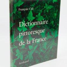 Libros de segunda mano: DICTIONNAIRE PITTORESQUE DE LA FRANCE, ARTHAUD ED. FRANÇOIS CALI. 1955, 23X28 CM.. Lote 43129286