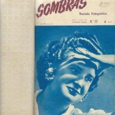 Libros de segunda mano: SOMBRAS, REVISTA FOTOGRÁFICA, CONTIENE LOS NÚMEROS DEL 32 ENERO 1947 AL 43 DICIEMBRE 1947. Lote 43500202