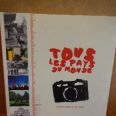 Libros de segunda mano: TOUS LES PAYS DU MONDE. LE TOUR DU MONDE EN 1200 PHOTOS. ED / TANA EDITIONS - 2005. OCASIÓN.. Lote 43883448