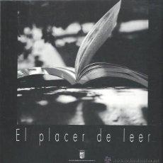 Libros de segunda mano: EL PLACER DE LEER, IV CERTAMEN FOTOGRÁFICO SALAMANCA 1997,97 PÁGS,LECTURAS Y FOTOGRAFÍAS,23X23CM. Lote 43967797