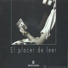 Libros de segunda mano: EL PLACER DE LEER, V CERTAMEN FOTOGRÁFICO SALAMANCA 1998,95 PÁGS,LECTURAS Y FOTOGRAFÍAS,23X23CM. Lote 43967826