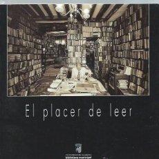 Libros de segunda mano: EL PLACER DE LEER, VII CERTAMEN FOTOGRÁFICO SALAMANCA 2000,111 PÁGS,LECTURAS Y FOTOGRAFÍAS,23X23CM. Lote 43967834