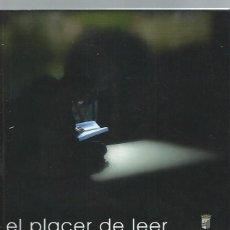 Libros de segunda mano: EL PLACER DE LEER,XVI CERTAMEN FOTOGRÁFICO, AYUNTAMIENTO DE SALAMANCA 2009, 113 PÁGS, 23X23CM. Lote 44325174
