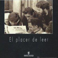 Libros de segunda mano: EL PLACER DE LEER, VI CERTAMEN FOTOGRÁFICO, AYUNTAMIENTO DE SALAMANCA 1999, 95 PÁGS, 23X23CM. Lote 44325205