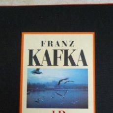 Libros de segunda mano: L- 850. FRANZ KAFKA UND PRAGA. KAROL KÁLLAY. (FRANZ KAFKA Y PRAGA) EN ALEMAN. 1995. Lote 44669300