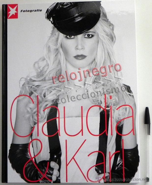 CLAUDIA & KARL - LIBRO FOTOS DE CLAUDIA SCHIFFER FOTOGRAFÍA MODA EROTISMO MODELO TOP MODEL LAGERFELD (Libros de Segunda Mano - Bellas artes, ocio y coleccionismo - Diseño y Fotografía)