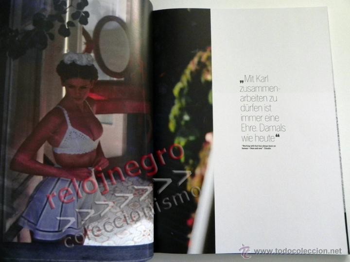 Libros de segunda mano: CLAUDIA & KARL - LIBRO FOTOS DE CLAUDIA SCHIFFER FOTOGRAFÍA MODA EROTISMO MODELO TOP MODEL LAGERFELD - Foto 5 - 45004949