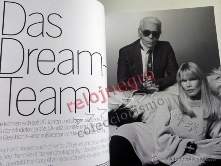 Libros de segunda mano: CLAUDIA & KARL - LIBRO FOTOS DE CLAUDIA SCHIFFER FOTOGRAFÍA MODA EROTISMO MODELO TOP MODEL LAGERFELD - Foto 6 - 45004949