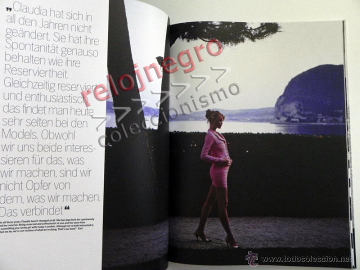 Libros de segunda mano: CLAUDIA & KARL - LIBRO FOTOS DE CLAUDIA SCHIFFER FOTOGRAFÍA MODA EROTISMO MODELO TOP MODEL LAGERFELD - Foto 9 - 45004949