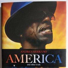 Libros de segunda mano: LIBRO FOTOGRAFÍA AMÉRICA AND OTHER WORK DEL FOTÓGRAFO ARTISTA ANDRES SERRANO TASCHEN GRAN TAMAÑO. Lote 45083565