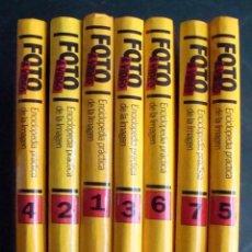 Libros de segunda mano: RBA 1992 FOTO & VIDEO ENCICLOPEDIA PRÁCTICA DE LA IMAGEN 7 TOMOS. Lote 45182118