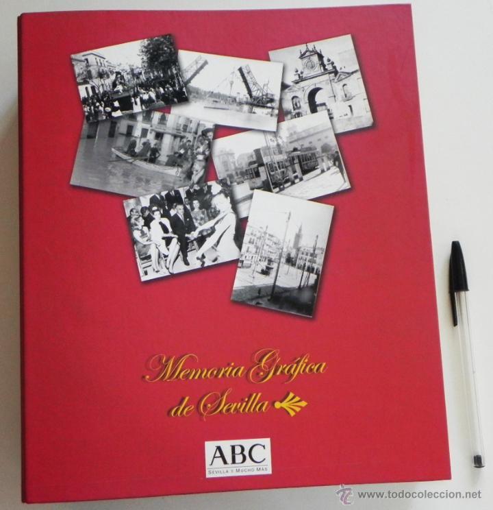 MEMORIA GRÁFICA DE SEVILLA - FOTOGRAFÍAS ANTIGUAS HISTORIA FOTOGRAFÍA CIUDAD FOTOS ARTE LIBRO ABC segunda mano