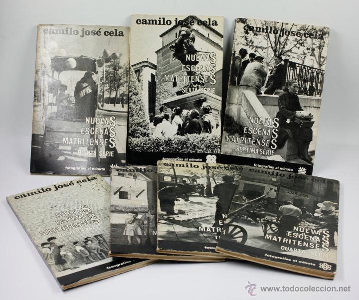 NUEVAS ESCENAS MATRITENSES, FOTOS: PALAZUELO, TEXTO: CELA. LOS 7 VOL. COLECCIÓN COMPLETA 1965-66. (Libros de Segunda Mano - Bellas artes, ocio y coleccionismo - Diseño y Fotografía)