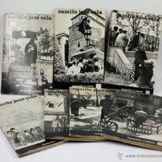 Libros de segunda mano: NUEVAS ESCENAS MATRITENSES, FOTOS: PALAZUELO, TEXTO: CELA. LOS 7 VOL. COLECCIÓN COMPLETA 1965-66.. Lote 45607698
