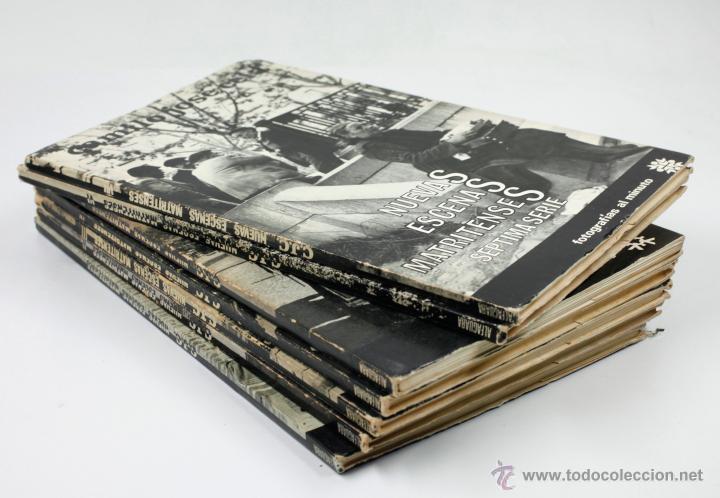 Libros de segunda mano: Nuevas escenas matritenses, fotos: Palazuelo, texto: Cela. Los 7 vol. colección completa 1965-66. - Foto 3 - 45607698