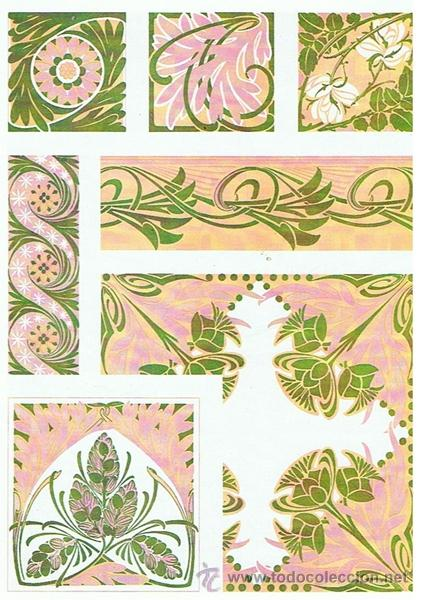 300 Art Nouveau Designs And Motifs