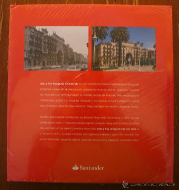 Libros de segunda mano: CIUDADES DE ESPAÑA: AYER Y HOY IMÁGENES DE UNA VIDA / BERNARDO RIEGO AMÉZAGA - FOTOGRAFIA - PRECINTO - Foto 2 - 46119703