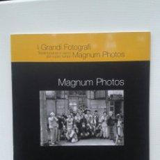 Libros de segunda mano: MAGNUN PHOTOS I GRANDI FOTOGRAFI. Lote 46366224