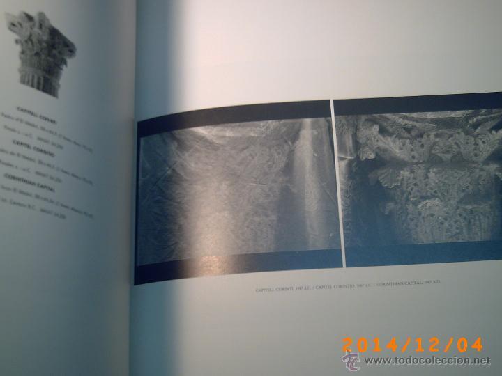 Libros de segunda mano: TÀRRACO OBJECTE I IMATGE-ONZE FOTÒGRAFS AL MUSEU NACIONAL ARQUEOLÒGIC DE TARRAGONA- - Foto 8 - 46623678
