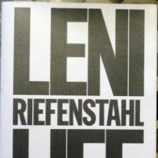 Libros de segunda mano: EIKO ISHIOKA ET AL. LENI RIEFENSTAHL: LIFE. 1992. Lote 47100270