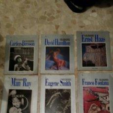 Libros de segunda mano: LOS GRANDES FOTÓGRAFOS - ORBIS . FABBRI. 8 NÚMEROS DEL 1 AL 8. Lote 47789477