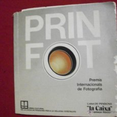 Libros de segunda mano: PRIN FOT - PREMIS INTERNACIONALS DE FOTOGRAFIA 1979 TODO FOTOGRAFIAS. Lote 48348134