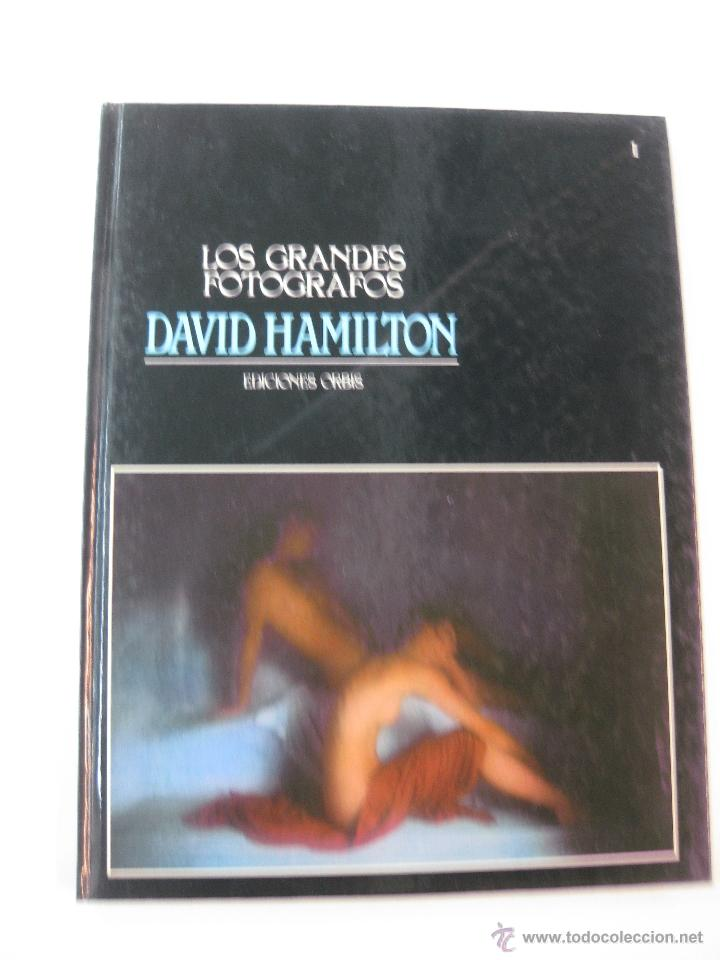 LOS GRANDES FOTOGRAFOS. DAVID HAMILTON.EDICIONES ORBIS.1983. (Libros de Segunda Mano - Bellas artes, ocio y coleccionismo - Diseño y Fotografía)