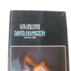 Libros de segunda mano: LOS GRANDES FOTOGRAFOS. DAVID HAMILTON.EDICIONES ORBIS.1983.. Lote 48446988