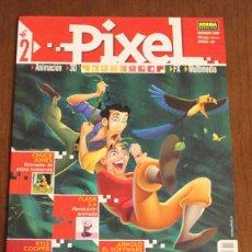 Libros de segunda mano: PIXEL Nº2 DISEÑO, ANIMACIÓN, INFOGRAFÍA.. Lote 48820341