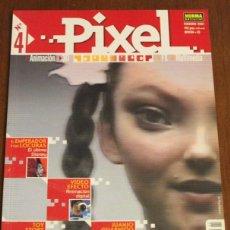 Libros de segunda mano: PIXEL Nº4 DISEÑO, ANIMACIÓN, INFOGRAFÍA.. Lote 48820370