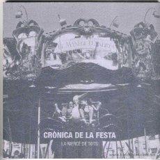 Libros de segunda mano: FESTES DE LA MERCE ANY 2000. CRÒNICA DE LA FESTA. FOTOGRAFIES.. Lote 48832413