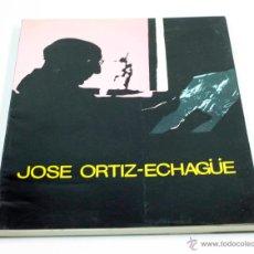Libros de segunda mano: JOSÉ ORTIZ ECHAGÜE, CATÁLOGO EXPO MADRID 1980. 20X25 CM.. Lote 48956135