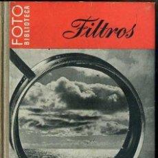 Libros de segunda mano: FILTROS - FOTO BIBLIOTECA OMEGA. Lote 49464351