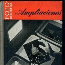 Libros de segunda mano: AMPLIACIONES - FOTO BIBLIOTECA OMEGA. Lote 49464376