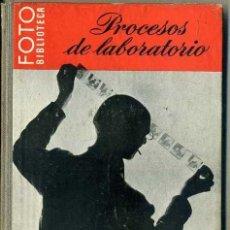 Libros de segunda mano: PROCESOS DE LABORATORIO - FOTO BIBLIOTECA OMEGA. Lote 49464476