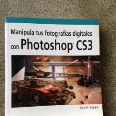 Libros de segunda mano: PHOTOSHOP CS3. SCOTT KELBY. ANAYA MULTIMEDIA 2008. . Lote 49477501
