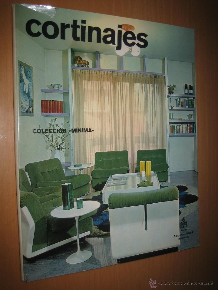 Revista decoraci n cortinajes colecci n m nima comprar for Libros de diseno de muebles