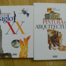 Libros de segunda mano: LIBROS HISTORIA VISUAL SIGLO 20 Y PINTURA Y ARQUEOLOGIA, COLECCION COMPLETA LIBRO Y FASCICULOS. Lote 50069621