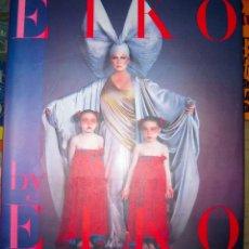 Libros de segunda mano: EIKO BY EIKO: EIKO ISHIOKA-JAPAN'S ULTIMATE DESIGNER. 1990. Lote 238170135