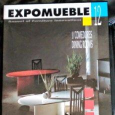 Libros de segunda mano: EXPOMUEBLE 12 COMEDORES ISBN 84 7741 143 1. Lote 51102798