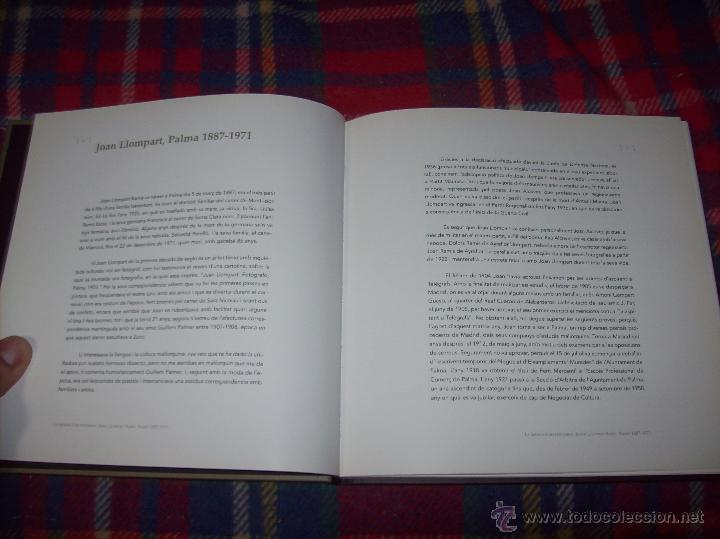 Libros de segunda mano: LA MIRADA DUN FOTÒGRAF. JOAN LLOMPART RAMIS (PALMA 1887-1971). SA NOSTRA .2002. MALLORCA - Foto 4 - 52990058