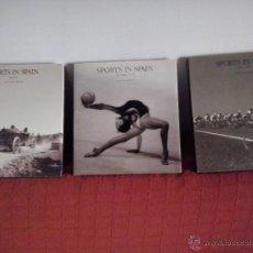 Libros de segunda mano: 3 TOMOS SPORTS IN SPAIN SELECCION FOTOGRAFICA PUBLIO LOPEZ TAPAS DURAS Y SOBRECUBIERTA EN PAPEL. Lote 53041647