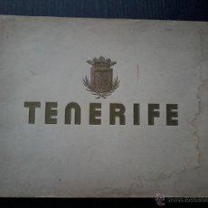 Libros de segunda mano: TENERIFE . LIBRO CON 40 FOTOGRAFIAS EN B/N .INDUSTRIAS GRAFICAS SEIX Y BARRAL.. Lote 53047311