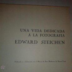 Libros de segunda mano: UNA VIDA DEDICADA A LA FOTOGRAFÍA 1967 EDWARD STEICHEN 1º EDICIÓN PLAZA & JANES . Lote 53180613