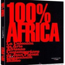 Libros de segunda mano: 100% AFRICA. ARTE AFRICANO CONTEMPORÁNEO. GUGGENHEIM. NUEVO. Lote 184927583